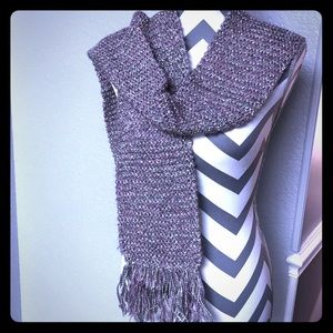 Accessories - 🧣 Scarf Silver and Purple